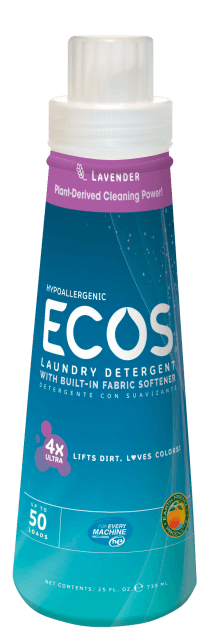 Ultra Concentrated Hypoallergenic Laundry Detergent - Lavender - Image