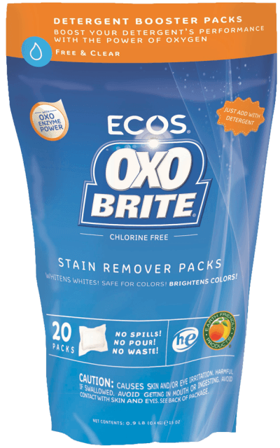 OxoBrite® Laundry Booster Packs - Free & Clear - Image